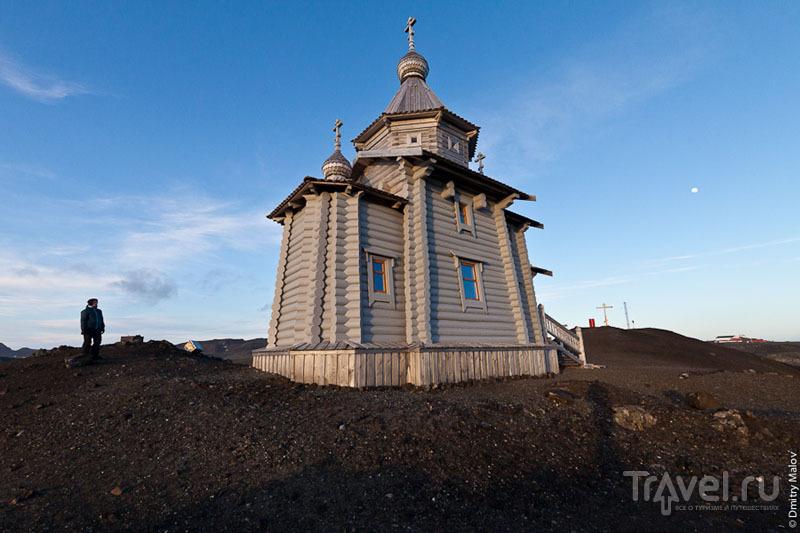 Русская церковь в Антарктиде / Фото из Антарктики
