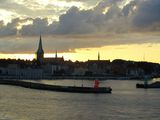 Вид на пристань / Швеция