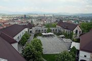 Двор града / Словения