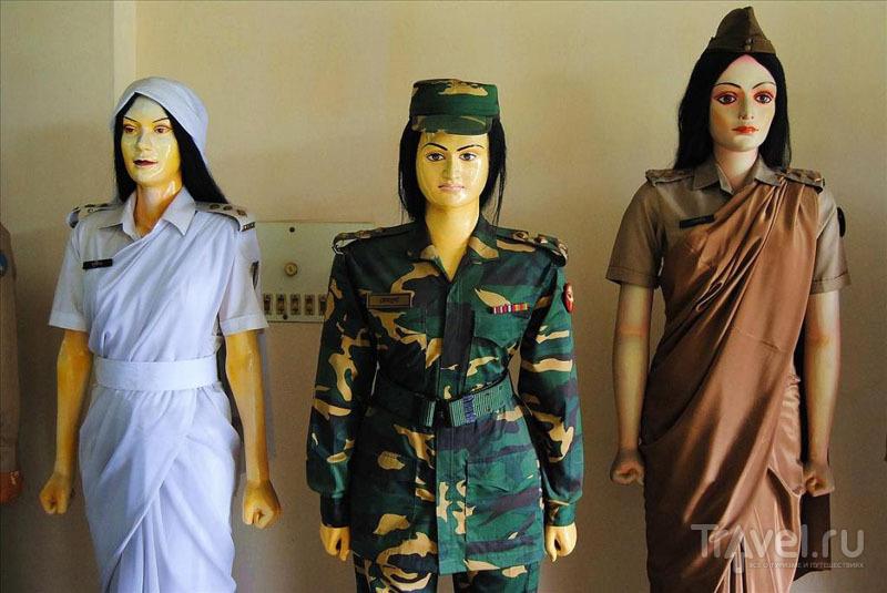 Экспонаты Военного музея в Дакке / Фото из Бангладеш