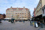 Площадь Лилла Торг / Швеция