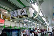 Экраны в вагонах / Южная Корея