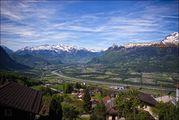 Вид на весь Лихтенштейн / Лихтенштейн
