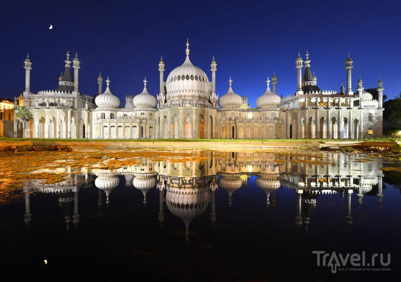 Роскошный дворец, построенный по заказу Георга IV / Великобритания