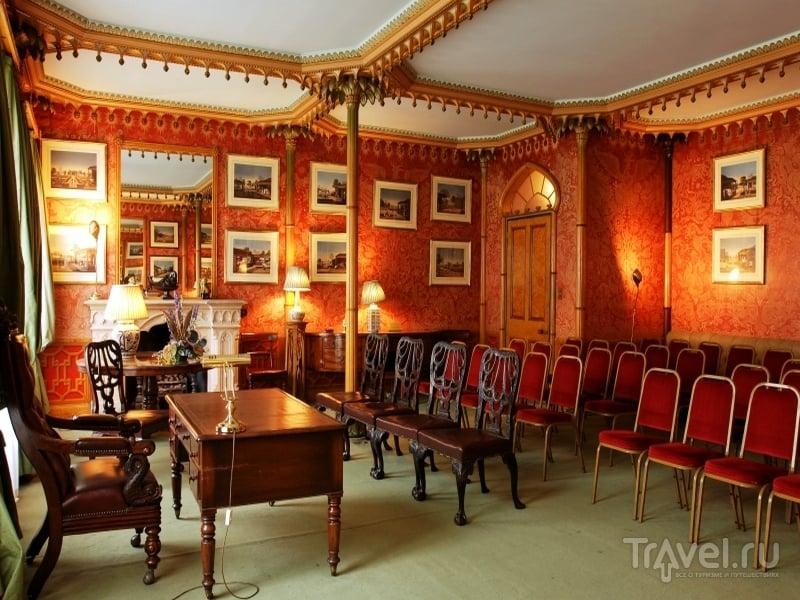 Интерьеры королевского павильона в Брайтоне / Великобритания
