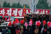 Военные на ЗИЛах / Корея - КНДР