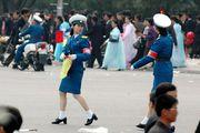 Пхеньянские регулировщицы / Корея - КНДР