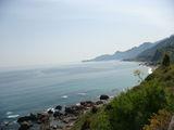 Вид на побережье / Италия