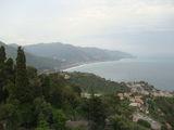Таормина с высоты / Италия
