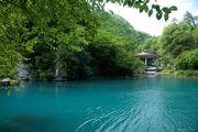 Искусственный пруд Новоафонской ГЭС / Абхазия