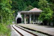 Станция Псцырха / Абхазия