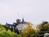 На здании висит флаг / Германия