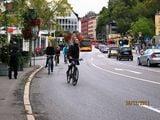 Много велосипедистов / Германия