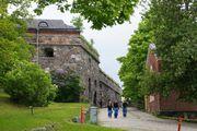 Внутри крепости / Финляндия