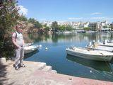 Айос-Николаос, соленое озеро / Греция