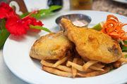 Питание в базовом ресторане / Фиджи