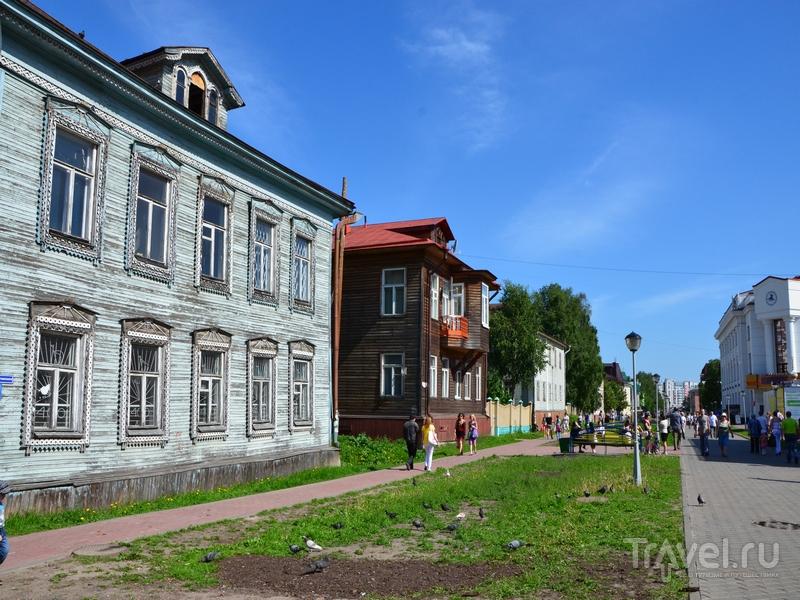 Улица Чумбарова-Лучинского в Архангельске / Фото из России