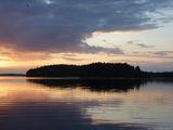 Остров в озере / Финляндия