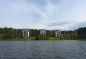 Вид с лодки / Финляндия