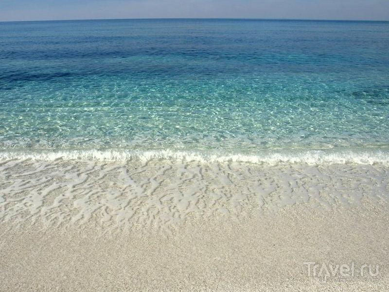 Живописное побережье западной Сардинии / Италия