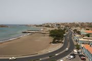 Пляж, маяк, порт / Кабо-Верде