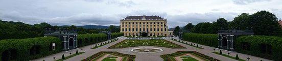Панорама с постамента / Австрия