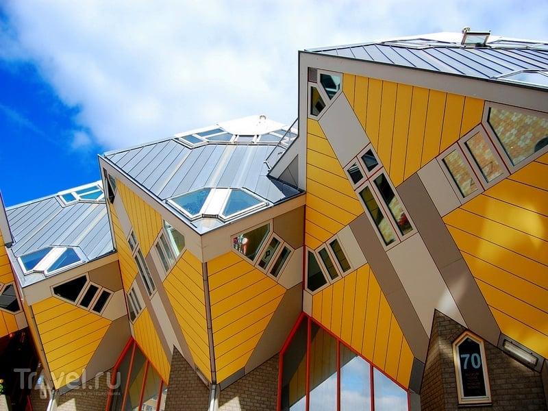 Дома-кубы - проект архитектора Пита Блома / Нидерланды