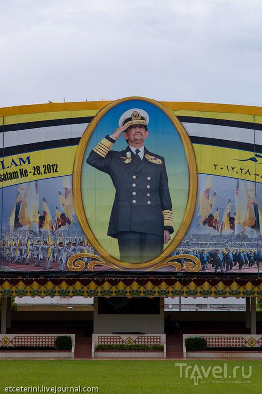 Изображение султана Брунея / Фото из Брунея