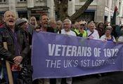 Ветераны 1-го LGBT-прайда 1972г. / Великобритания