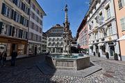 Замысловатый фонтан / Швейцария