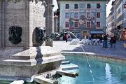 Фрагмент фонтана / Швейцария