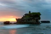 Потрясающие закаты / Индонезия