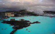 Вид с крыши комплекса / Исландия