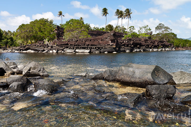 Побережье острова Понпеи, Микронезия / Фото из Микронезии