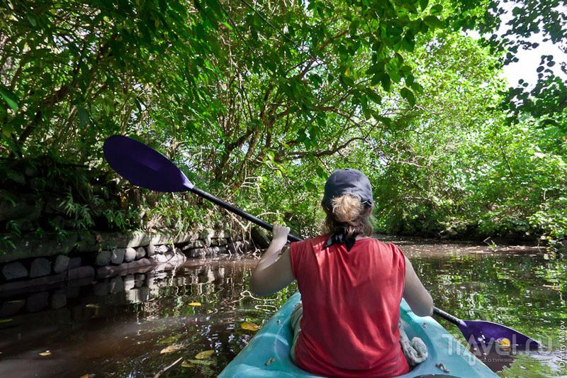 Канал на острове, Микронезия / Фото из Микронезии