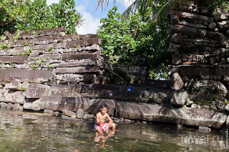 Понапский мальчик / Фото из Микронезии
