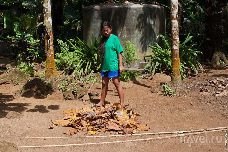 Девушка с острова Понпеи, Микронезия / Фото из Микронезии