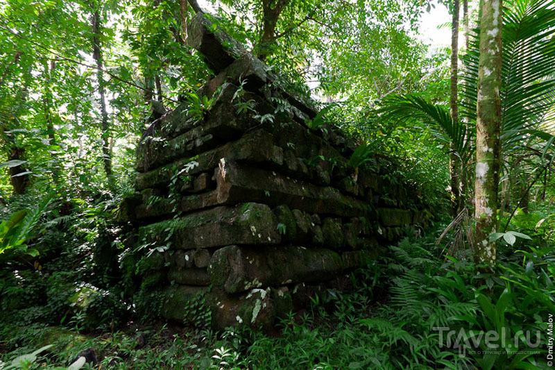 Стена Нан-Мадола, Микронезия / Фото из Микронезии
