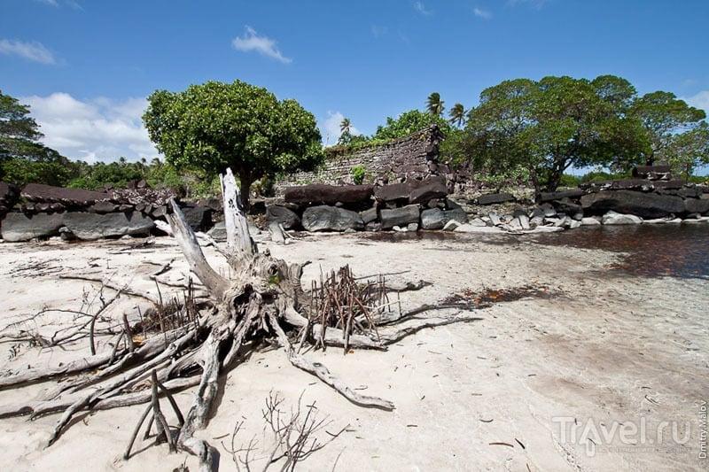 Побережье у древнего города Нан-Мадол, Микронезия / Фото из Микронезии