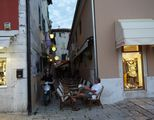 Кафе в старом городе / Хорватия