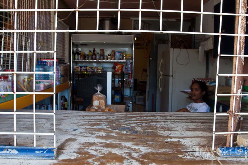 Ларек на Маджуро / Фото с Маршалловых островов