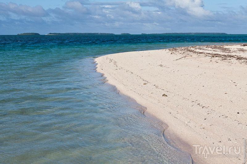 Дифракция волн  на Маршалловых островах / Фото с Маршалловых островов