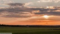Полет над Чехией на закате / Чехия