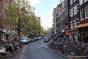 Велосипеды на тротуаре / Нидерланды