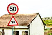 Ограничение скорости / Португалия