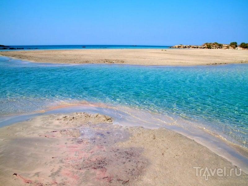Кристально чистая вода у побережья Элефониси / Греция