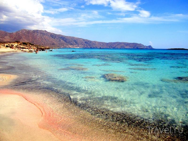 Живописное побережье островка Элефониси / Греция