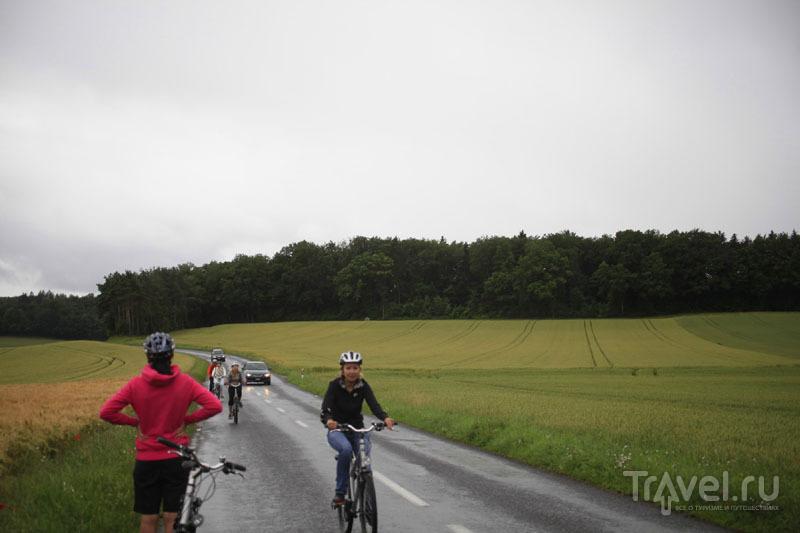 Велодорожки в Швейцарии / Фото из Швейцарии