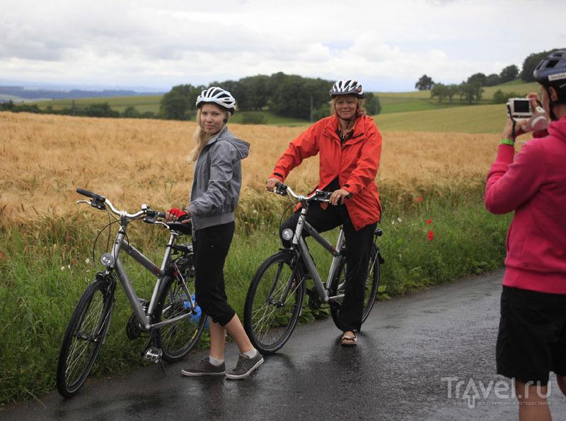 Велопрогулка по Швейцарии / Фото из Швейцарии
