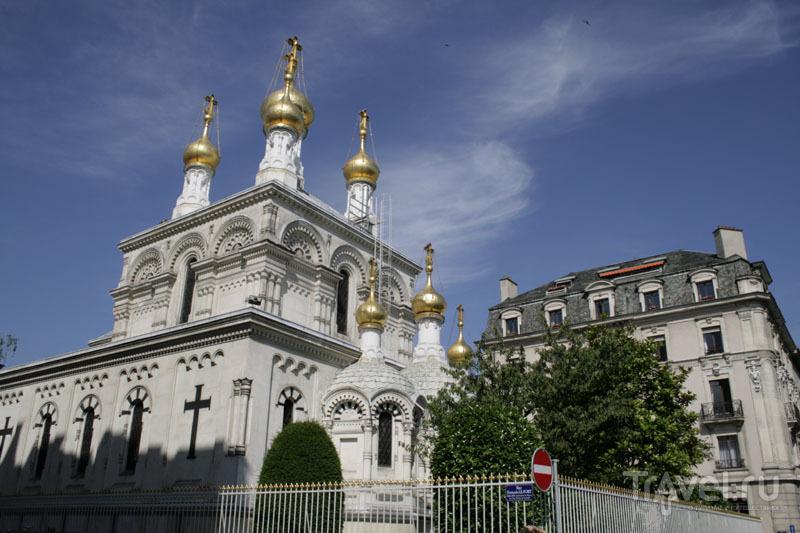 Православная церковь в Женеве / Фото из Швейцарии